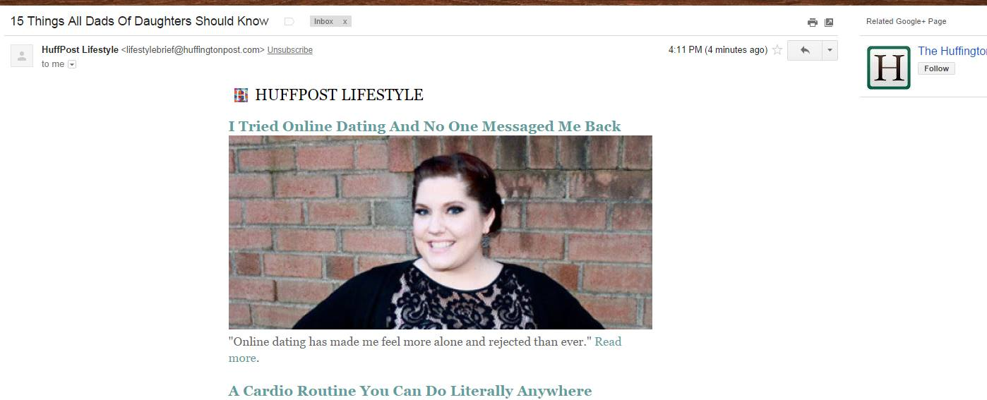 I Tried Online Dating Huffington Post