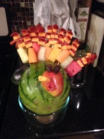 My first pinterest creation- fruit gobbler